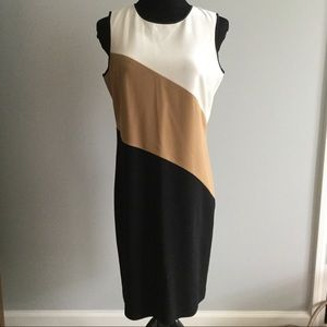 Ann Taylor sleeveless shift dress